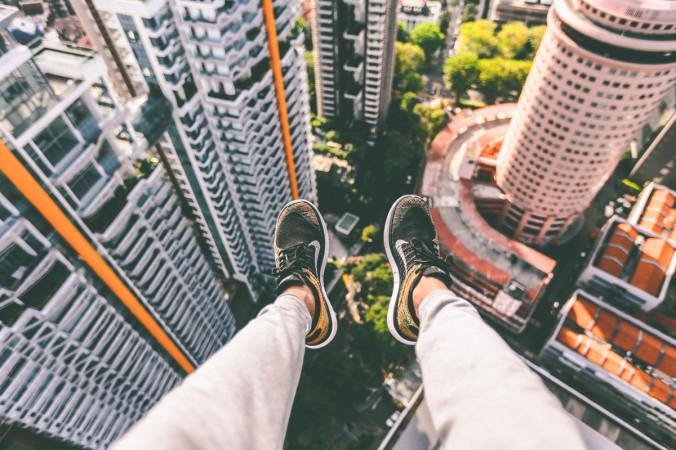 Feet Aerial Photo by Alex Wong