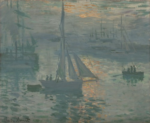Image: Sunrise (Marine) by Claude Monet, courtesy of the Getty's Open Content Program