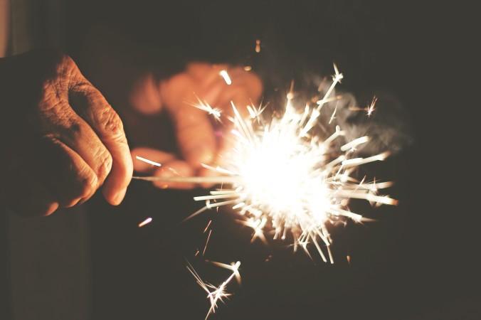 Sparkler Firework Kelly Bozarth